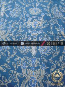 Kain Batik Tulis Warna Alam Indigo Sido Asih