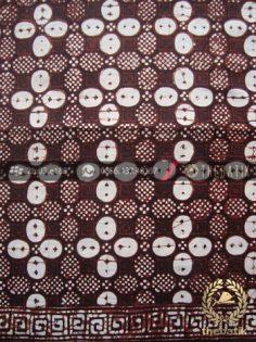 Kain Batik Klasik Jogja Motif Kawung Sisik