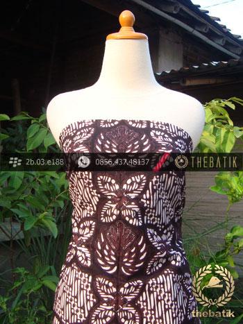 Kain Batik Klasik Jogja Motif Prabu Anom Kesit