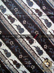 Kain Batik Klasik Jogja Motif Parang Seling Kembang