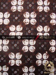Kain Batik Klasik Jogja Motif Kawung Prabu Titik