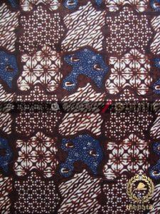 Kain Batik Klasik Jogja Motif Sekarjagad Sogan