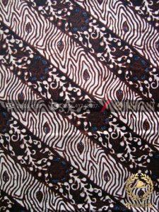 Kain Batik Klasik Jogja Motif Soco Putih Sogan