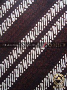 Kain Batik Klasik Jogja Motif Parang Klithik Seling