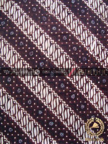 Kain Batik Klasik Jogja Motif Parang Klithik Grompol