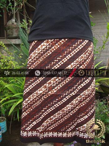 Kain Batik Klasik Jogja Motif Rujak Senthe Misris
