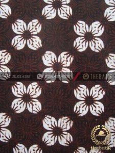 Kain Batik Klasik Jogja Motif Kawung Prabu Sogan