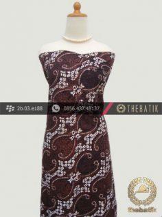 Kain Batik Klasik Jogja Motif Lereng Wirasat