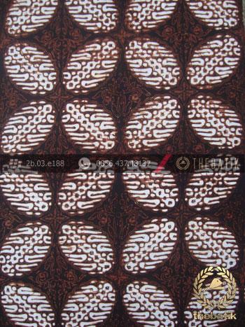 Kain Batik Klasik Jogja Motif Bligon Sogan