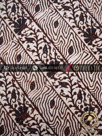 Kain Batik Klasik Jogja Motif Soco Kembang