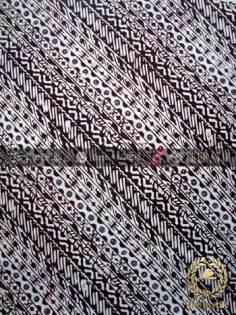 Kain Batik Klasik Jogja Motif Udan Liris Sogan