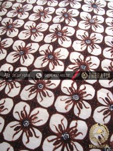 Kain Batik Klasik Jogja Motif Kembang Kawung