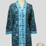Jahit Baju Batik Wanita - Blouse Bordir Modern
