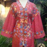 Jahit Baju Batik Wanita - Blouse Batik Encim