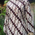 Jahit Baju Batik Wanita - Blouse Batik Kerja Model Klasik
