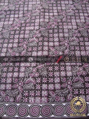 Batik Cap Tulis Pekalongan Motif Lereng Ungu