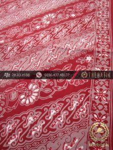 Batik Cap Tulis Pekalongan Motif Parang Merah