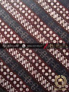 Kain Batik Klasik Jogja Motif Parang Seling Kawung-2