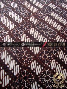 Kain Batik Klasik Jogja Motif Parang Klithik Kotak