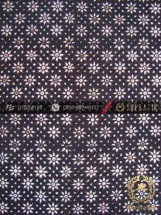 Kain Batik Klasik Jogja Motif Kembang Tanjung Kecil