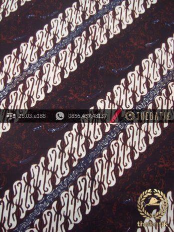 Kain Batik Klasik Jogja Motif Parang Semut