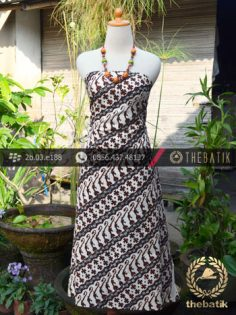 Kain Batik Klasik Jogja Motif Parang Canthel Baru