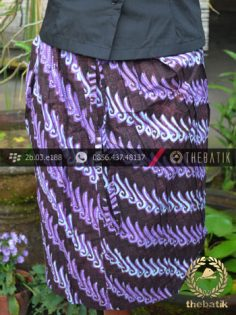 Rok Batik Pendek untuk Kebaya – Parang Canthel Ungu