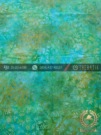 Kain Batik Modern Motif Gradasi Warna Hijau