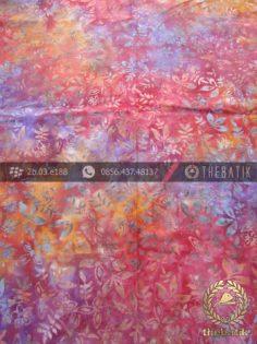 Kain Batik Modern Motif Gradasi Warna Merah