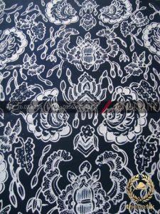 Kain Batik Tulis Motif Semen Hitam