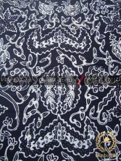 Kain Batik Tulis Motif Wahyu Tumurun Hitam