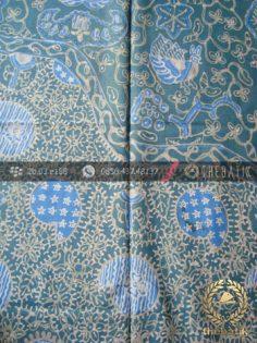 Batik Tulis Warna Alam Motif Keongan Tumpal