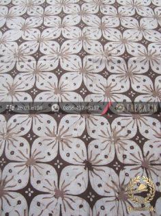 Kain Batik Warna Alam Motif Kawung Prabu