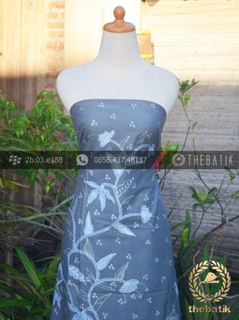 Batik Tulis Warna Alam Motif Burung Buketan