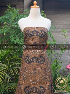 Kain Batik Solo Wahyu Tumurun Klasik Soga Genes