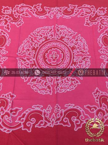 Kain Batik Wall Hanging Megamendung Pink