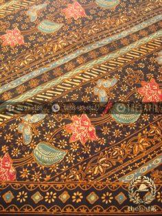 Bahan Baju Batik Kombinasi Tulis Lereng Klasik Coletan