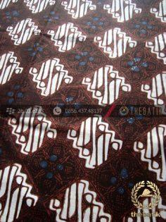 Kain Batik Klasik Jogja Motif Ceplok Abimanyu