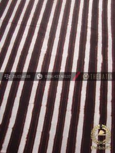 Kain Batik Klasik Jogja Motif Garis Polos