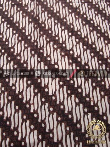 Kain Batik Klasik Jogja Motif Parang Klithik
