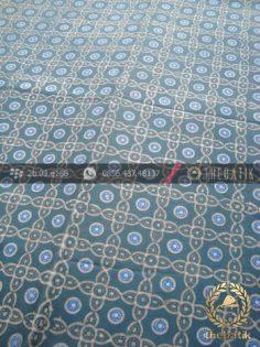 Batik Pewarna Alami Motif Grompol Indigo Biru
