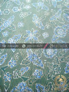 Batik Tulis Pewarna Alami Motif Bantulan Galaran Hijau