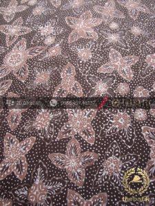 Batik Tulis Pewarna Alami Motif Bantulan Granit Coklat
