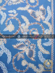 Batik Tulis Pewarna Alami Kupu Biru Indigo