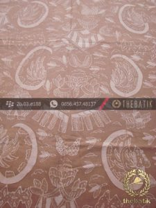 Batik Tulis Pewarna Alami Motif Semen Romo Coklat