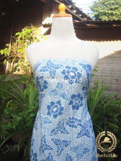 Batik Tulis Pewarna Alami Bantulan Gringsing Indigo