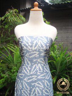 Bahan Baju Batik Sutera Motif Abstrak Lidah Buaya