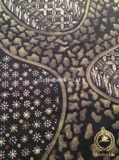 Kain Batik Warna Alam Motif Pulau Kombinasi