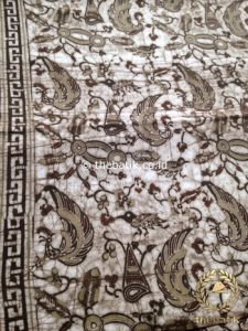Kain Batik Warna Alam Motif Semen Kecil