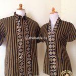 Jahit Kain Batik atau Lurik Baju Kemeja Dress